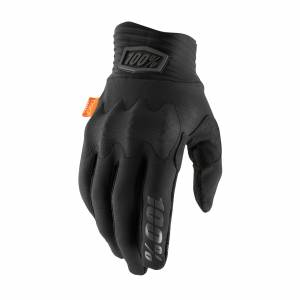 100% Cognito Black Charcoal Motocross Gloves