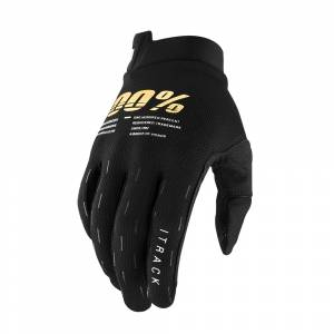 100% iTrack Youth Gloves Black