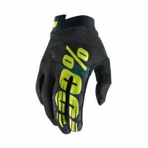 100% iTrack Camo Motocross Gloves