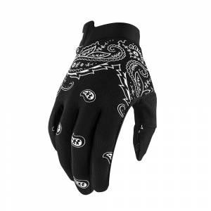 100% iTrack Bandana Motocross Gloves