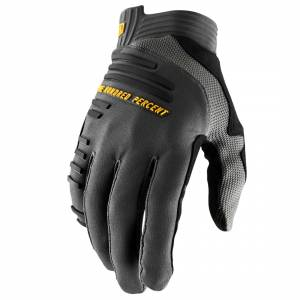 100% R-Core Charcoal Motocross Gloves
