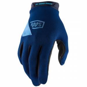 100% Ridecamp Navy Motocross Gloves