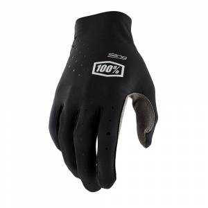 100% Sling Black Motocross Gloves