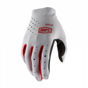 100% Sling Grey Motocross Gloves
