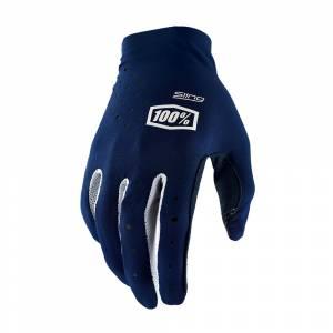 100% Sling Navy Motocross Gloves