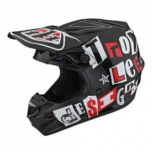 Troy Lee Designs GP Anarchy Black Motocross Helmet