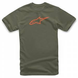 Alpinestars Ageless Classic Military Orange T-Shirt