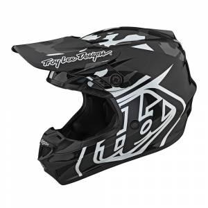 Troy Lee Designs GP Overload Camo Black Grey Motocross Helmet