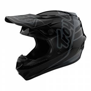 Troy Lee Designs Kids GP Silhouette Black Grey Motocross Helmet