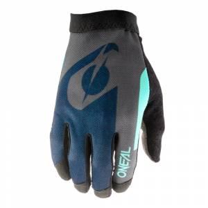 ONeal AMX Altitude Blue Cyan Motocross Gloves