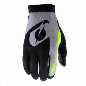 ONeal AMX Altitude Black Neon Yellow Motocross Gloves