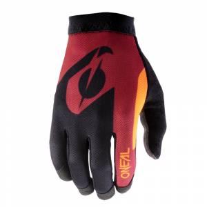 ONeal AMX Altitude Red Orange Motocross Gloves