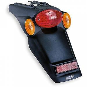 License Plate Holder with Tail Stop Light & Indicators