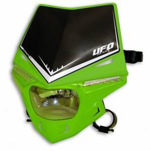 UFO Stealth headlight 12V 35W - Green
