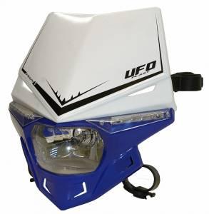 UFO Stealth headlight 12V 35W - White Blue