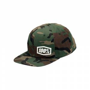 100% Machine Camo Snapback Hat