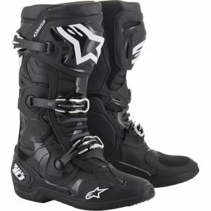 Alpinestars Tech 10 Black Motocross Boots