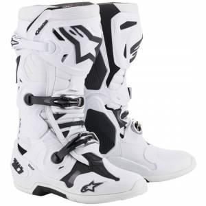 Alpinestars Tech 10 White Motocross Boots