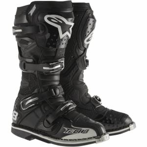 Alpinestars Tech 8 RS Black Motocross Boots