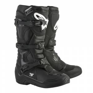 Alpinestars Tech 3 Black Motocross Boots
