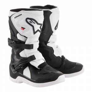 Alpinestars Kids Tech 3S Black White Motocross Boots