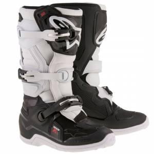 Alpinestars Kids Tech 7S Black White Motocross Boots