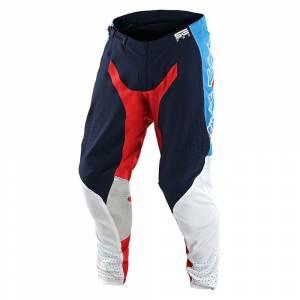 Troy Lee Designs SE Pro Quattro Navy Red Motocross Pants