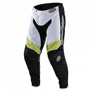 Troy Lee Designs GP Air Veloce Camo Black Glo Green Motocross Pants