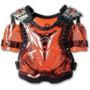 UFO Shield One Chest Protector - Clear Red