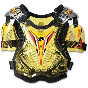 UFO Shield One Chest Protector - Clear Yellow