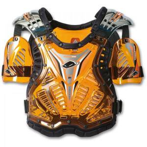 UFO Shield One Chest Protector - Clear Orange