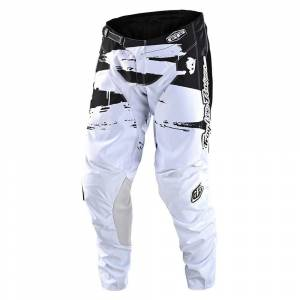 Troy Lee Designs GP Brushed Black White Motocross Pants