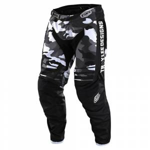 Troy Lee Designs GP Formula Camo Black Grey Motocross Pants