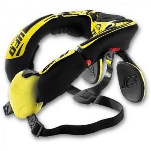 UFO NSS Black Yellow Neck Brace
