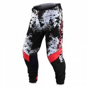 Troy Lee Designs SE Ultra Grime Black Rocket Red Motocross Pants