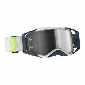 Scott Prospect Grey Yellow Light Sensitive Grey Lens Motocross Goggles