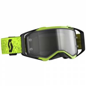 Scott Prospect Black Yellow Grey Lens Motocross Goggles