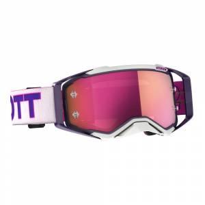 Scott Prospect Purple Pink Pink Chrome Lens Motocross Goggles