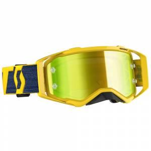 Scott Prospect Yellow Yellow Chrome Lens Motocross Goggles