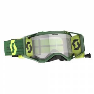 Scott Prospect Green Yellow Clear Lens WFS Goggles