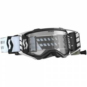 Scott Prospect Black White Clear Lens WFS Goggles