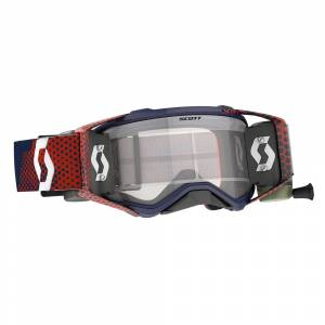Scott Prospect Red Blue Clear Lens WFS Goggles