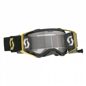 Scott Prospect Black Gold Clear Lens WFS Goggles