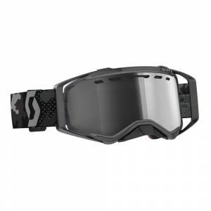Scott Prospect Dark Grey Black Light Sensitive Grey Lens Enduro Goggles