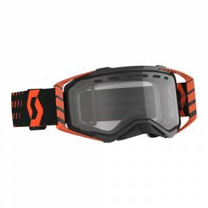Scott Prospect Orange Black Clear Lens Enduro Motocross Goggles