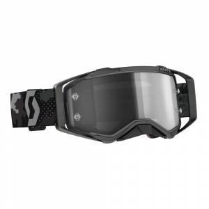 Scott Prospect Dark Grey Black Light Sensitive Grey Lens Sand Dust Motocross Goggles