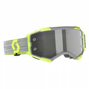 Scott Fury Grey Light Sensitive Lens Motocross Goggles