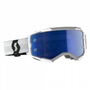 Scott Fury MX Goggles Yellow Chrome Lens Camo Kaki