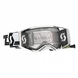Scott Prospect White Black Clear Double Lens Super WFS Goggles