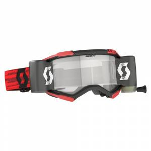 Scott Fury Red Blue Clear Lens WFS Goggles